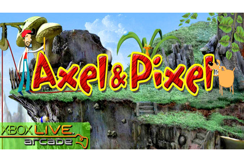 Axel & Pixel - X360 XBLA Gameplay (XBOX 360 720P) - YouTube