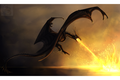 Dragon Burning Flames, HD Artist, 4k Wallpapers, Images ...
