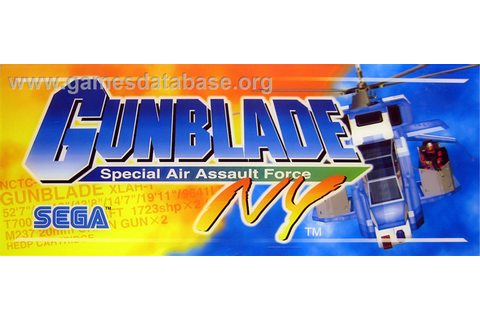 Gunblade NY - Arcade - Games Database