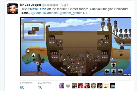 Fury over 'Slave Tetris' game cramming Africans into a ...