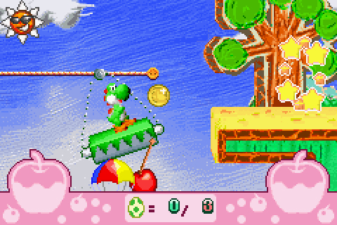 Yoshi's Universal Gravitation (2004) by Artoon GBA game