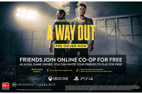 A Way Out - EB Games Australia