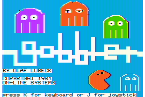 Download Gobbler (Apple II) - My Abandonware