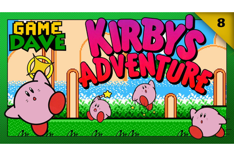 Kirby's Adventure | Game Dave - YouTube
