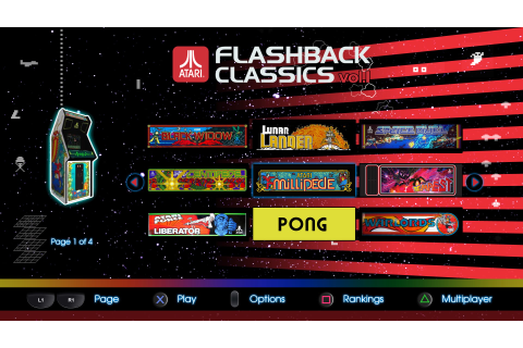 Atari Flashback Classics: Volume 1 - PS4 Review ...