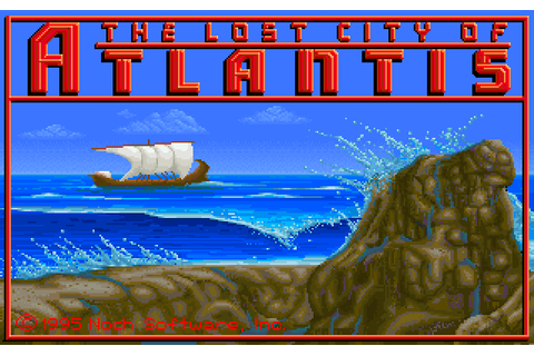 Lost City of Atlantis, The | Jogos novos e antigos