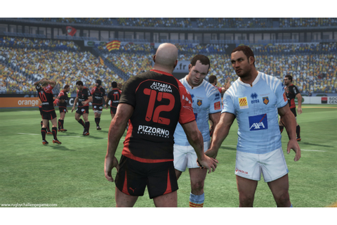 Jonah Lomu Rugby Challenge video game screenshots - PC PS3 ...
