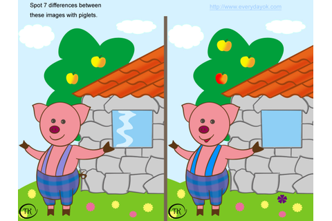 GAME:-SPOT THE DIFFERENCE BETWEEN TWO PICTURES - Games ...