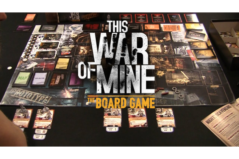This War of Mine - The Board Game - YouTube