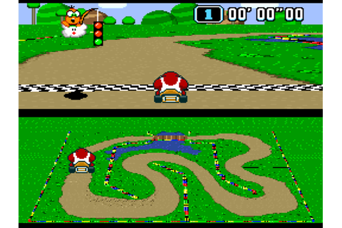 Super Mario Kart Download Game | GameFabrique