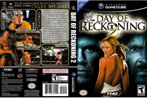 WWE Day Of Reckoning 2 ISO