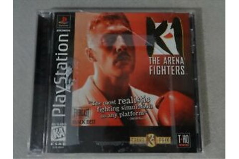 K-1 The Arena Fighters Sony Playstation One PS1 PSX Game ...