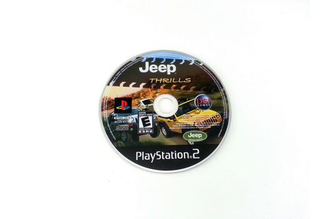 Jeep Thrills game for Playstation 2 (Loose) | The Game Guy