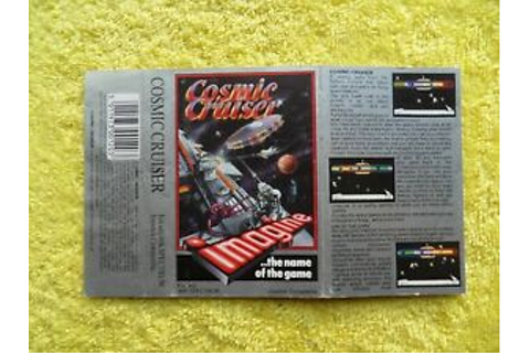 COSMIC CRUISER - sinclair spectrum - original artwork ...