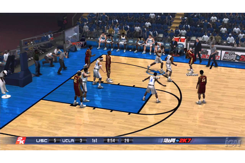 College Hoops 2K7 PlayStation 3 Gameplay - UCLA Vs. USC ...