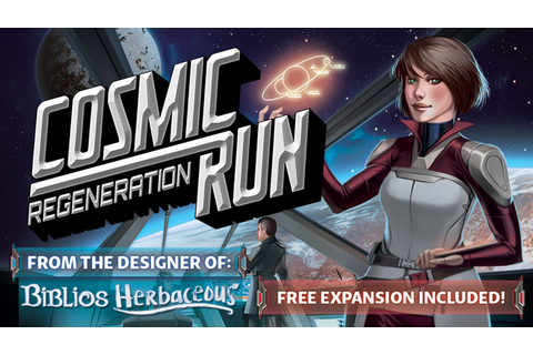 Cosmic Run: Regeneration by Dr. Finn's Games — Kickstarter