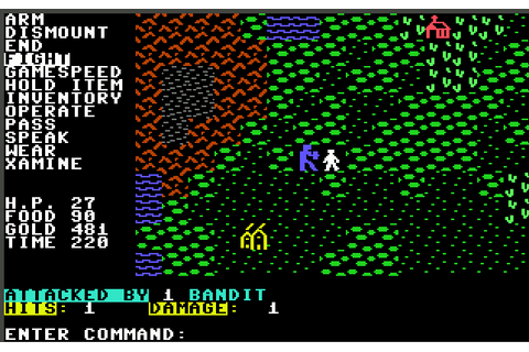 The CRPG Addict: Game 200: Questron (1984)