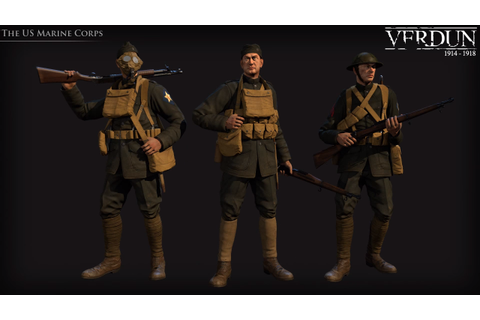 Marines | Verdun Wiki | FANDOM powered by Wikia