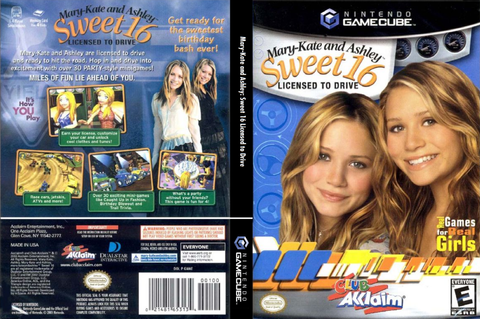 GMAE51 - Mary-Kate and Ashley: Sweet 16 Licensed to Drive