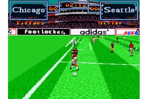 Super Nintendo Entertainment System Tony Meola's Sidekicks ...