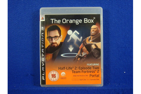 ps3 ORANGE BOX The Game Half-Life 2 Portal Team Fortress 2 ...