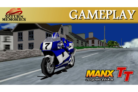 Manx TT Superbike [Model 2] [Arcade] by SEGA - Laxey Coast ...