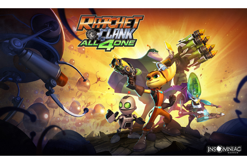 Wallpapers - Ratchet & Clank: All 4 One - PS3 - Ratchet Galaxy