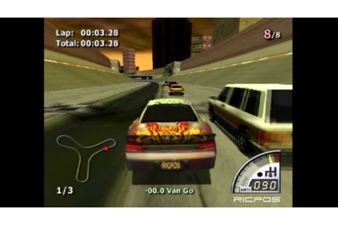 PS2 - Rumble Racing - Pura Diversão - YouTube