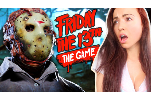FRIDAY THE 13th GAME - ESCAPING JASON!! - YouTube