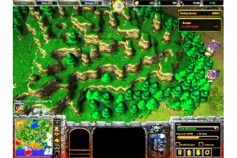 Mod Warcraft III : La Guerre des Mondes ! Game N°2 - YouTube