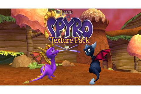Spyro A Hero's Tail Legend texture pack by Lydai on DeviantArt