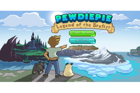 PewDiePie: Legend of the Brofist (Android) Mini Review ...