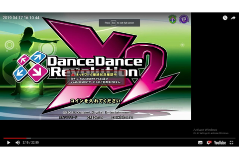 dance dance revolution X2 - full pc arcade machine attract ...