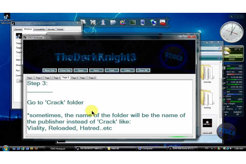 How to Install Crack for PC Games - YouTube