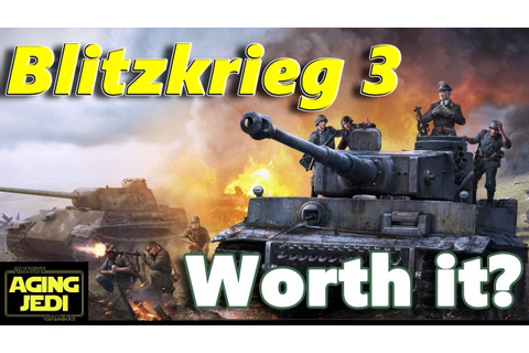 Blitzkrieg 3 Review - World War 2 RTS - PC - YouTube