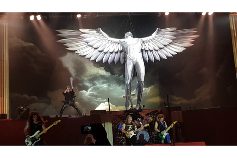 "Iron Maiden ""Flight Of Icarus"" live in Tallinn on 26.05 ..."