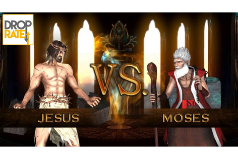 Jesus vs Moses | Fight of Gods Gameplay - YouTube