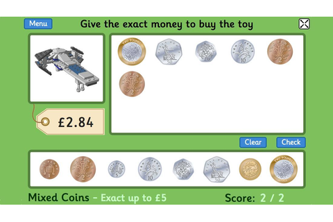 Toy Shop Money Game (GBP) - for 4 to 11 year old children ...