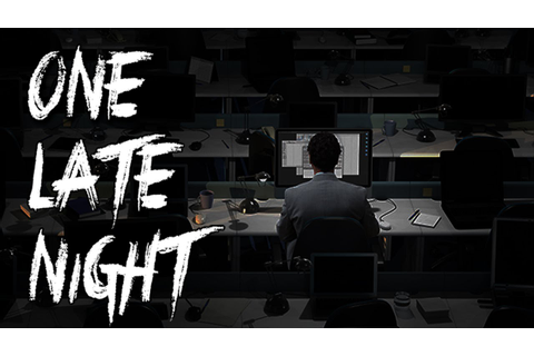 One Late Night - Office Horror Game - YouTube