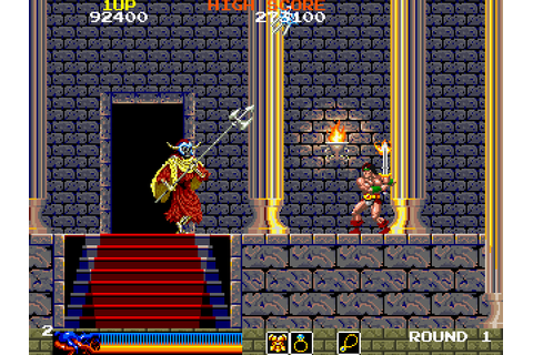 Rastan Saga (1987) by Taito Arcade game