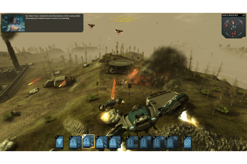 Download Carrier Command: Gaea Mission Full PC Game