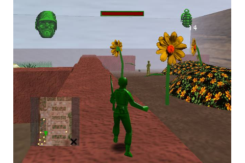 Army Men Sarges Heroes 2 Sony Playstation 2 Game