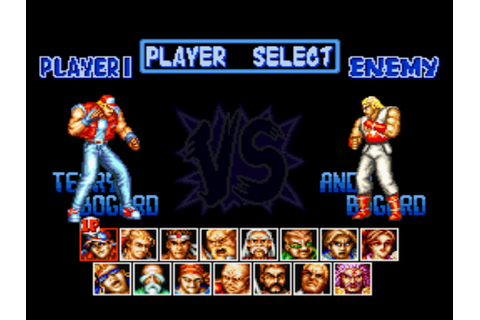 Fatal Fury Special Download Game | GameFabrique