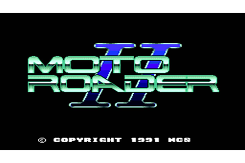 The Best of Retro VGM #267 - Moto Roader II (PC Engine ...