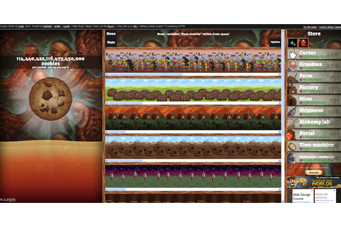 Humbabella's Gamery: Cookie Clicker - Chain Cookies