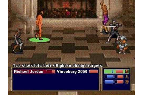 Charles Barkley Shut Up and Jam: Gaiden Jordan Fight (1st ...