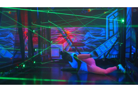 Laserlight Mission - Interactive Laser Game / Maze - YouTube
