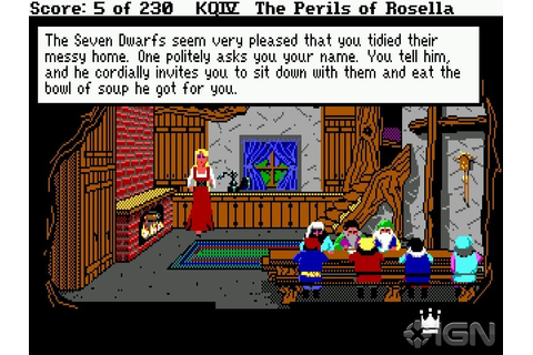 King's Quest IV: The Perils of Rosella Screenshots ...