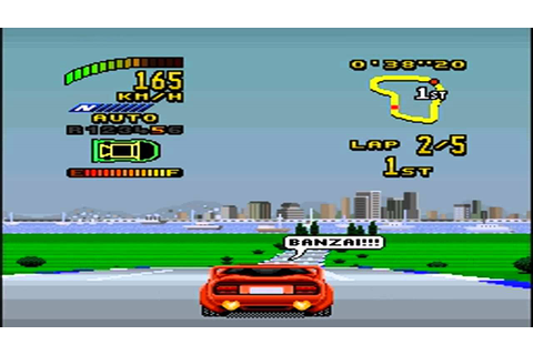 TOP GEAR 2.SNES (GAME GENNIE) - YouTube