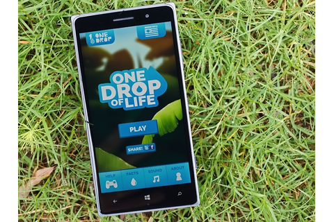 One Drop of Life – a wonderfully drawn up Windows Phone ...